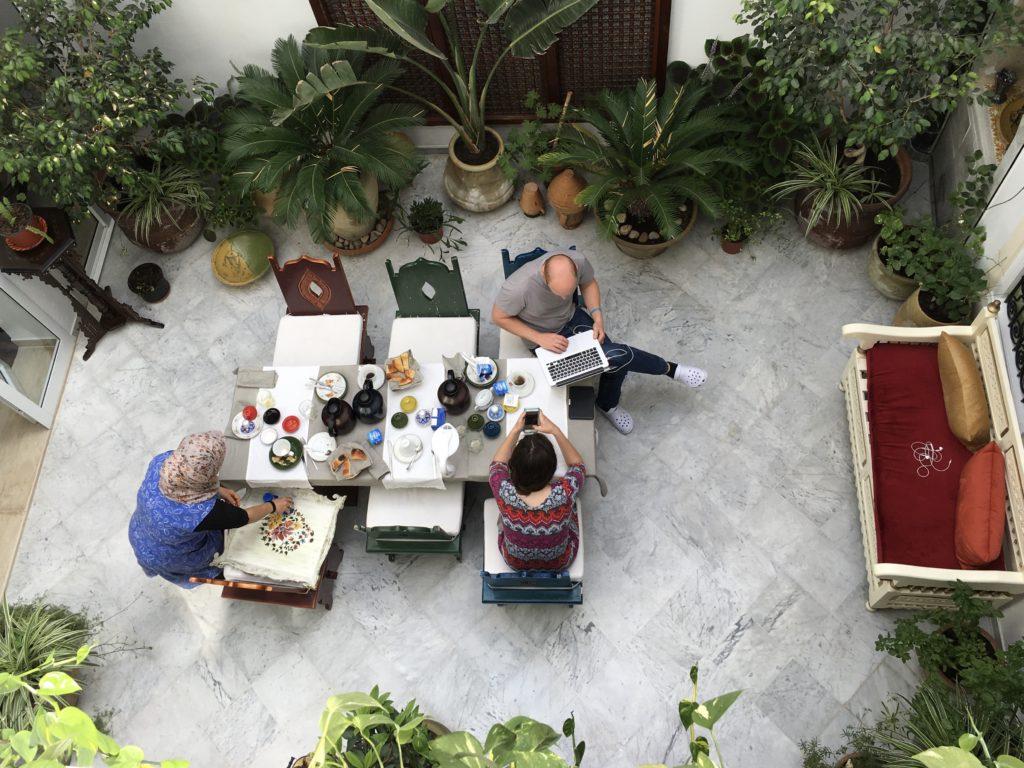 Dormire in un Dar a Tunisi: El Patio Guesthouse