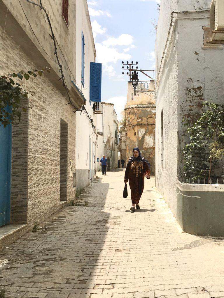 Girovagando per il quartiere - Tunisi