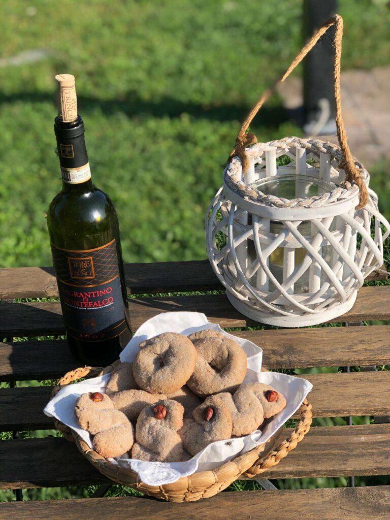 Ricette regionali natale: ciambelline al vino