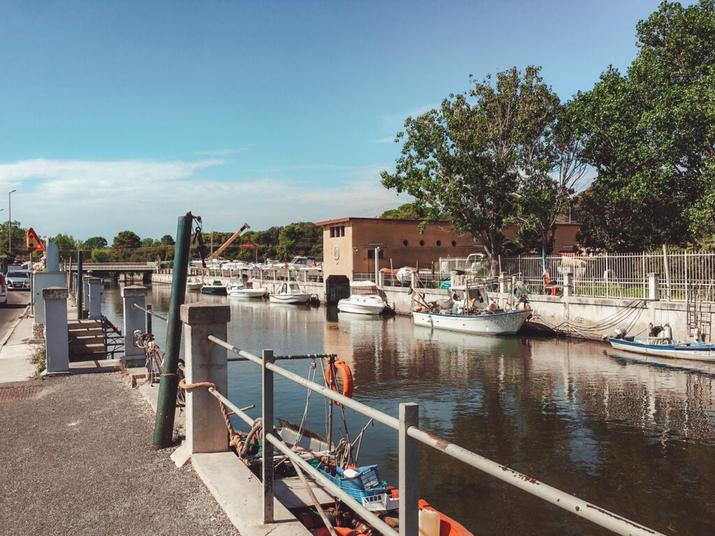 Ostia, canale dei pescatori