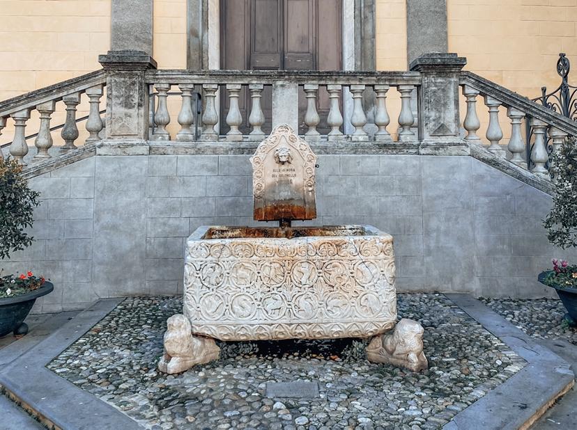 Quartiere San Siro Sanremo: vasca del XII secolo