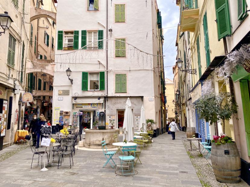Quartiere San Siro Sanremo: Via Corradi