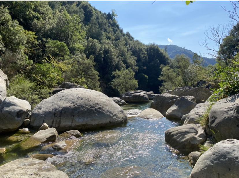 laghetti di Rocchetta Nervina: conche d'acqua
